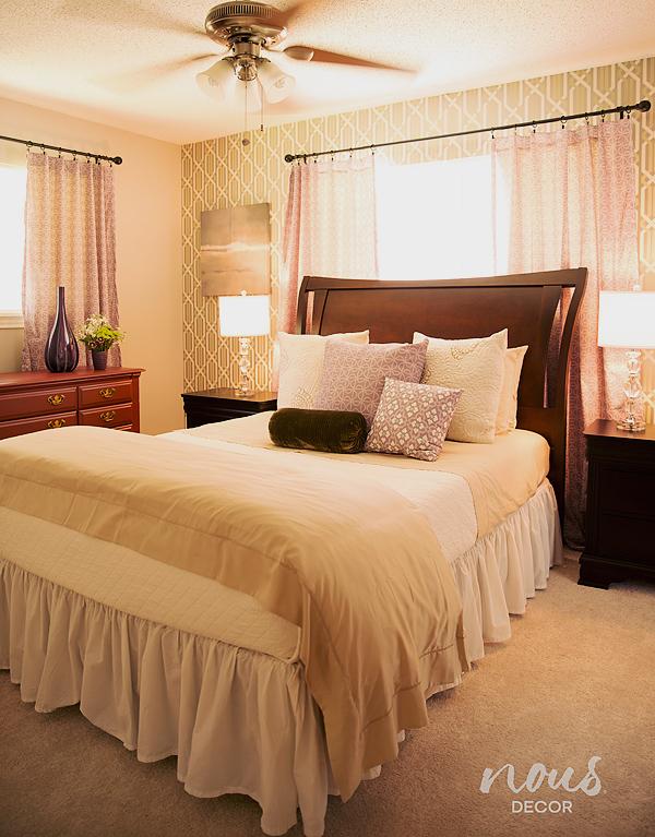 After - master bedroom**