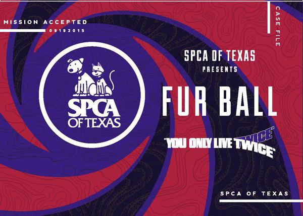 SPCA of Texas Fur Ball 2015*