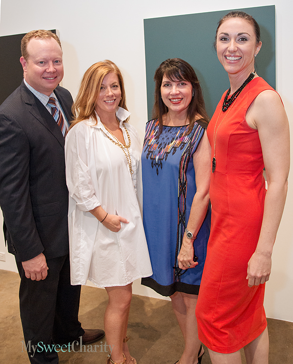 Art For Advocacy Co-Chairs Host A Gallery Preview And Private Tour Of Dallas Children's Advocacy Center