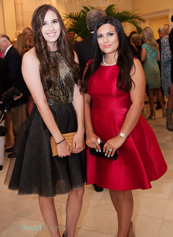Laura Langston and Alexandra Ferrer