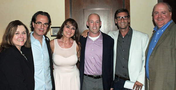Lynne McQuaker, Johnathan Brownlee, Shannon Kincaid, Chad Berry, David Laglinlais and Lee Papert*