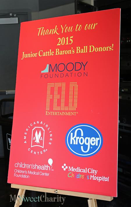 Junior Cattle Baron's sponsors