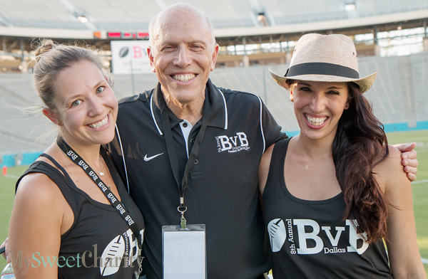 Greer Fulton, Jay Finegold and Erin Finegold