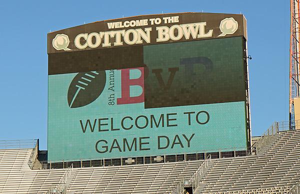 Cotton Bowl scoreboard