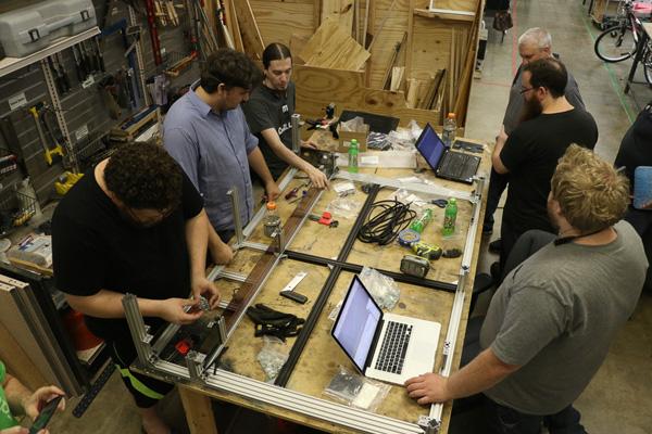 Members working*