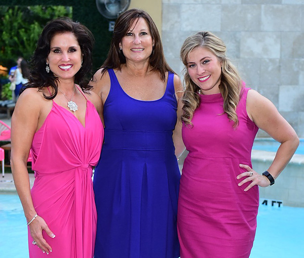 Wendy Messmann, Gay Donnelly and Kirsten Williams