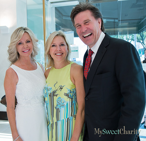 Lisa Cooley, Mary Martha Pickens and Clay Cooley