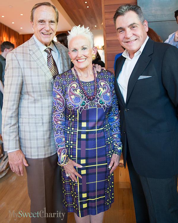 Don and Barbara Daseke and Terry Martin