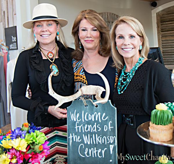Melissa Benge, Missy Huber Hall and Anne Reeder