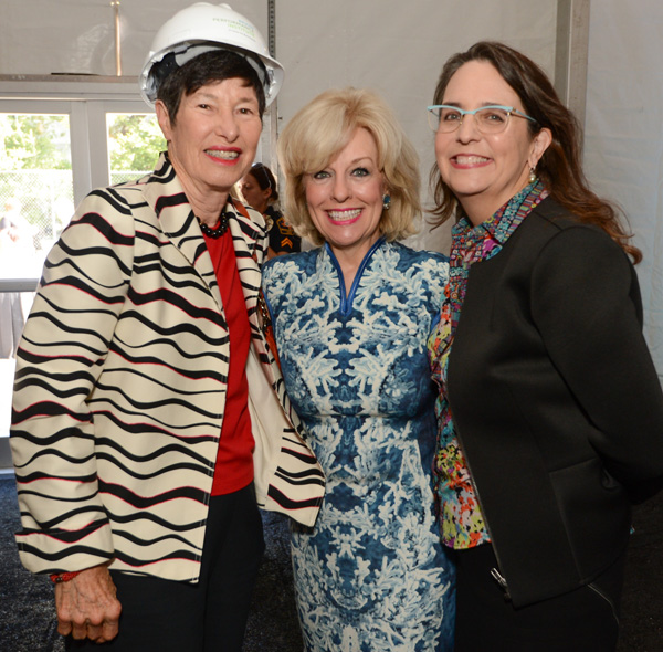 Lyda Hill, Sandra Chapman and Kimber Hartmann*