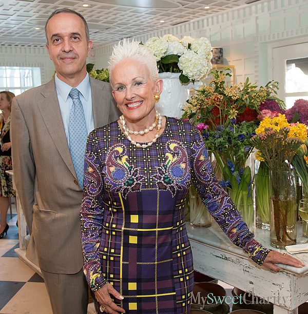 Round Robin October 14: Art In Bloom International Announcement Party And Celebrating Women Patron Party