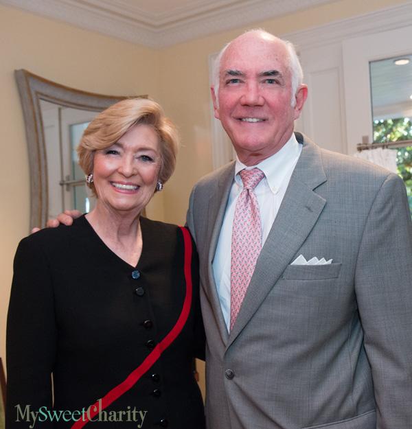 Nancy Carter and Robin Robinson