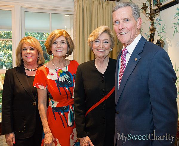 Beth Layton, Vicky Lattner, Nancy Carter and Joel Allison