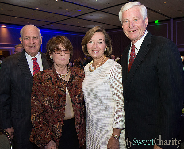 Ron and Phyllis Steinhart and Joan and Alan Walne