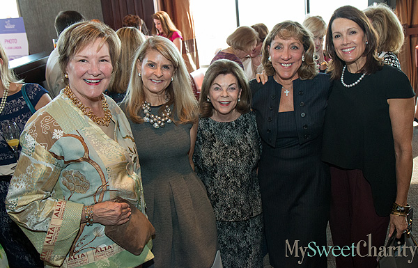 Margo Goodwin, Caren Kline, Barbara Stuart, Robyn Conlon and Pam Perella