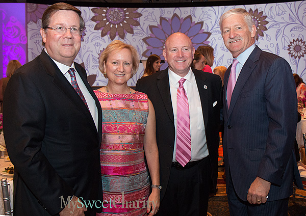 Jim and Mary Lentz, Jim Joyner and Alan Miller