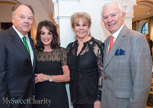 Barry and Lana Andrews, Annette Simmons and Gerald Fronterhouse