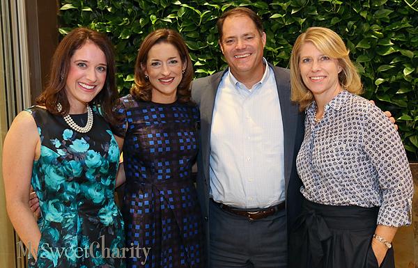 Jennifer Tobin, April Cook, Pat Brockette and Jill Cumnock