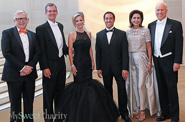 A Parade Of Fabulous Fashions Rolled Out For The AT&T Dallas Symphony Orchestra Gala At The Meyerson