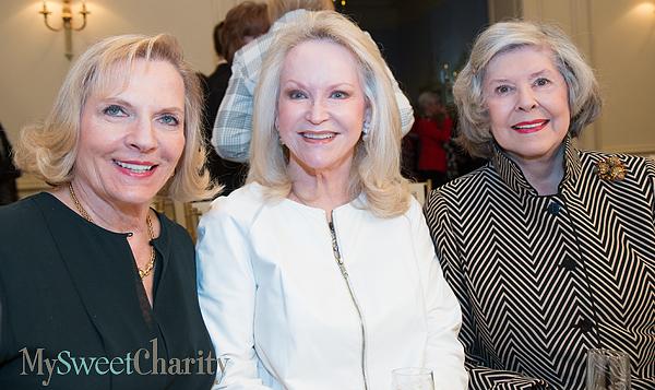 Jean Lattimore, Jill Rowlett and Dee Wyly