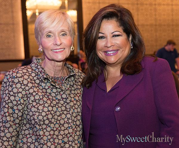 Carol Seay and Clarice Tinsley