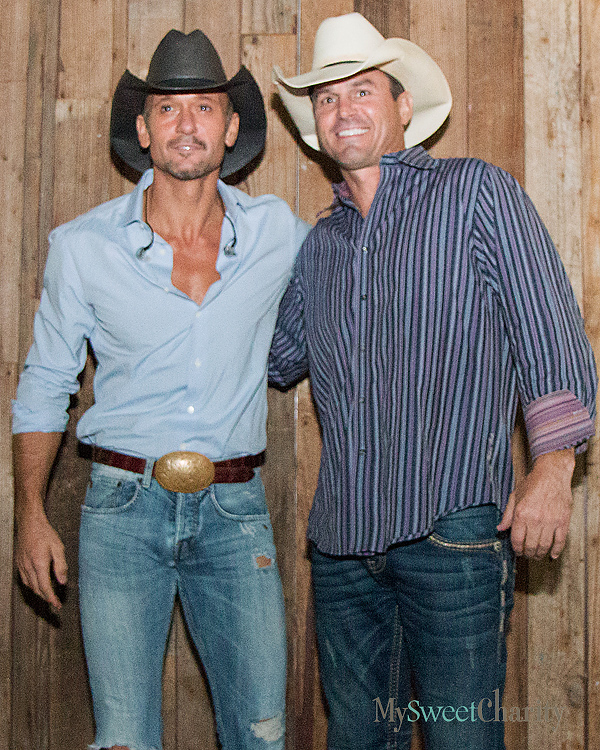 Tim McGraw and Sam Moore