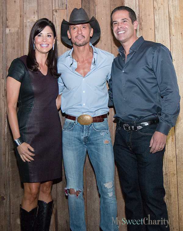 Natalie McGuire, Tim McGraw and Mike McGuire