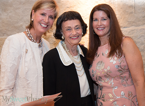 Carine Feyten, Virginia Chandler Dykes and Francie Moody-Dahlberg