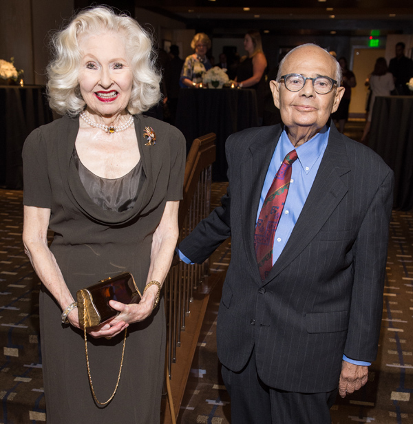 Nancy Shutt and Bill Booziotis*