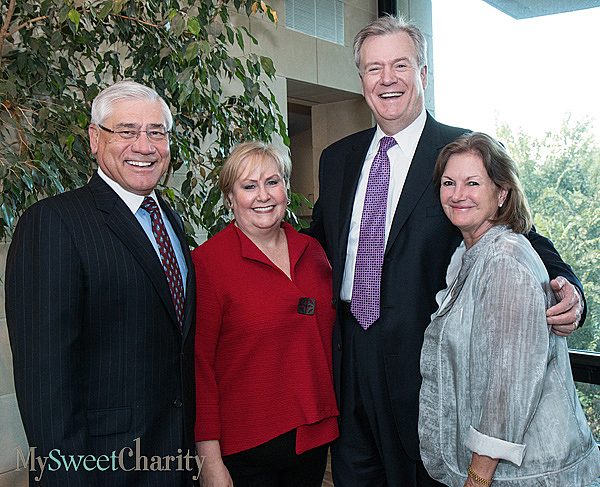 Bob Chereck, Christina and Chris Durovich and Mary McDermott Cook