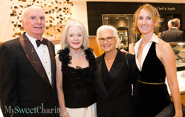 Roy and Lynne Sheldon, Jacline Mazard and Tamara Dorrance
