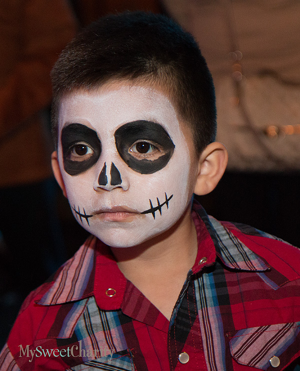 The Day of the Dead makeup