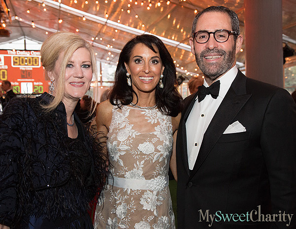 Ellen Winspear and Rhonda and Fraser Marcus