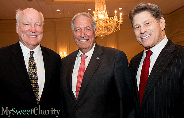 "Dallas Cowboys' Legend Gene Stallings Inspired Fund A Cure Luncheon Guests To ""Dance In The Rain"""