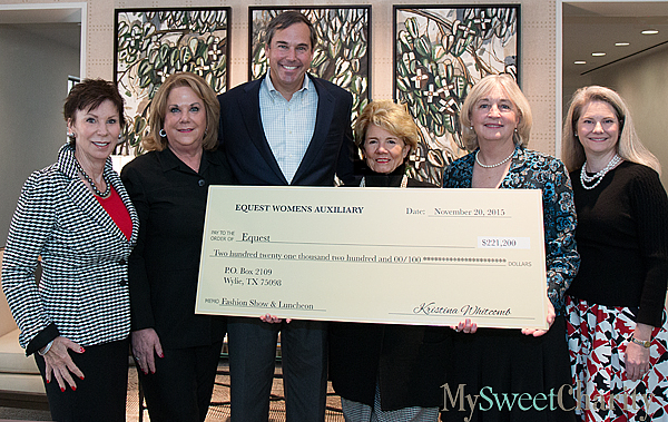 JUST IN: Equest Luncheon And Fashion Show Check Presentation Had An Oopsie