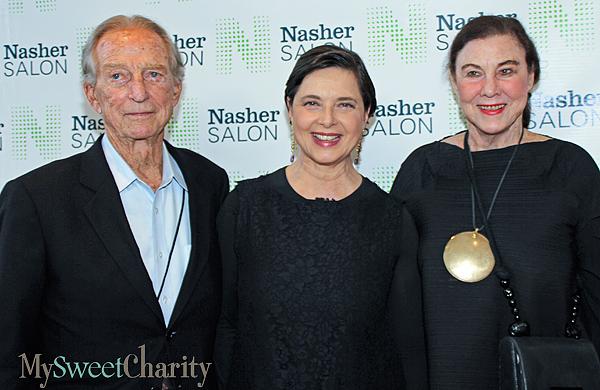 Fred Wiedemann, Isabella Rossellini and Flo Wiedemann (File photo)