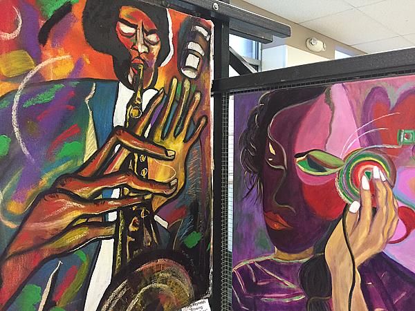 Works by various Stewpot Open Art Program artists*