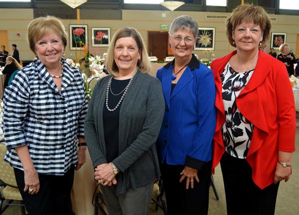 Janice Valentine, Bonnie Attwood, Margaret Duncan and Debbie Henderson**