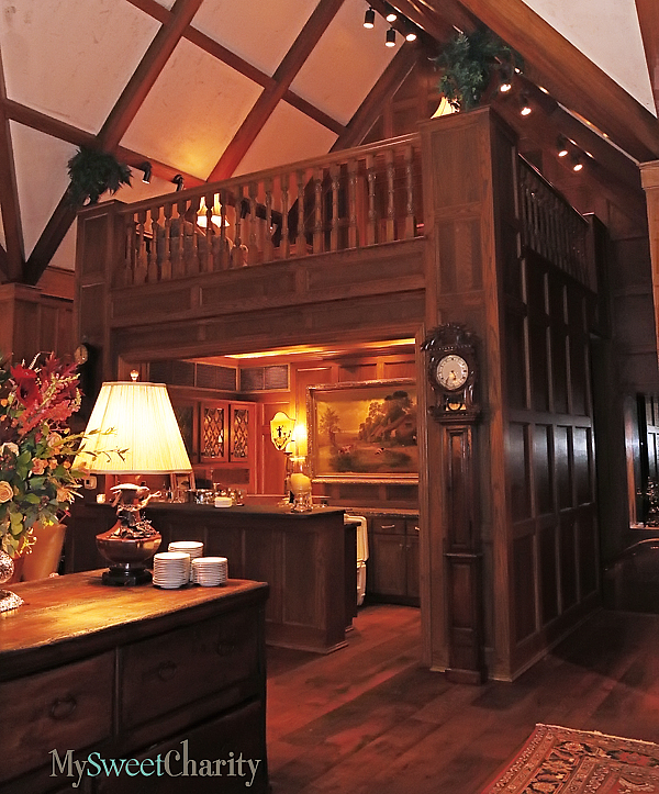 The bar in the Worrells great room