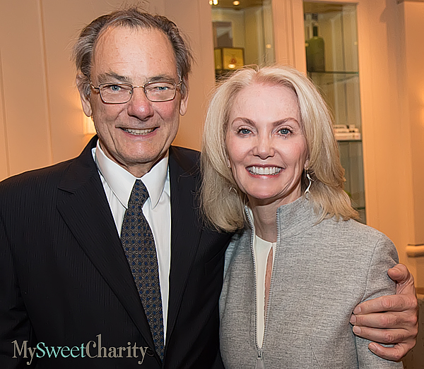 Tom Roush and Nancy Cain Marcus