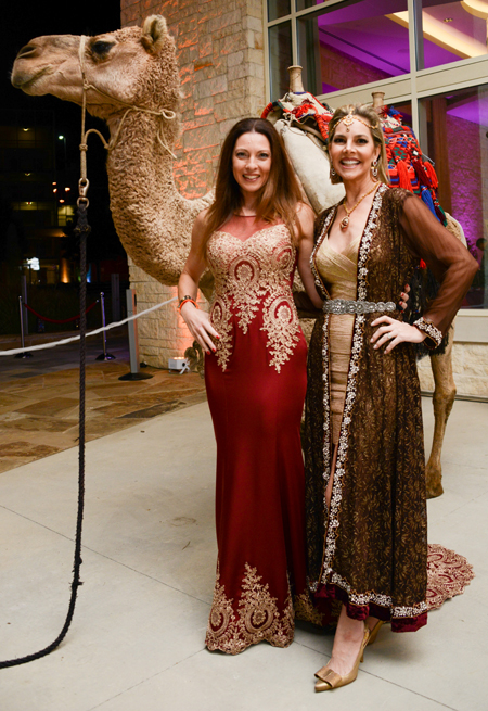 An Evening Of Hope Gala's A Night In Morocco Rocked The Night With Camel, Dancers And Costumed Lovelies