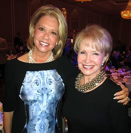 Pam Border and Kay Hammond*