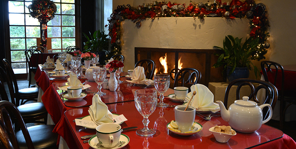 Tis Time For A Holiday Tea In The Legendary DeGolyer House