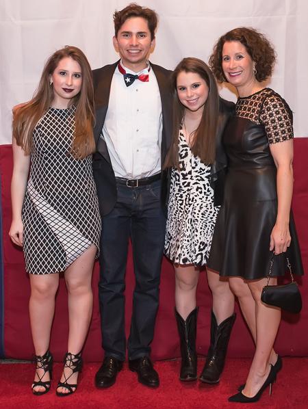 Sarah Siegel, Ben Siegel, Emma Siegel and Lynn Siegel*
