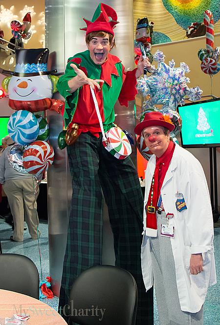 Children's Medical Center clowns