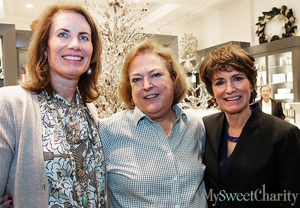 Debbie Shuey, Ann Geddes and Lynne Burkhart