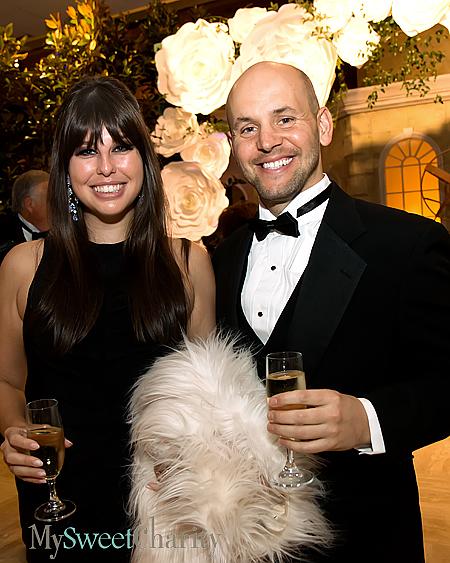 Katie Bivins and Cameron Cone
