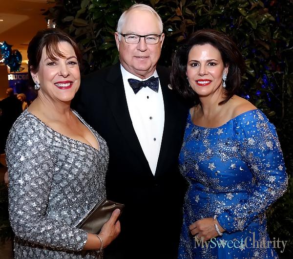 Deborah Cone, Loyd and Michal Powell