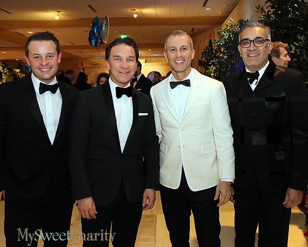 Michael McCray, Gonzalo Bueno, Faisal Halum and Rajan Patel