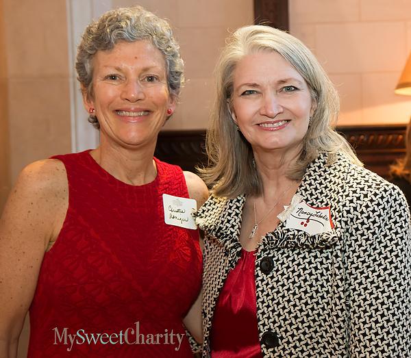 Christie Reniger and Nancy Labadie